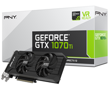PNY GF107IGTXCR8GEPB GeForce GTX 1070 Ti Twin Fan 8GB Graphics Card